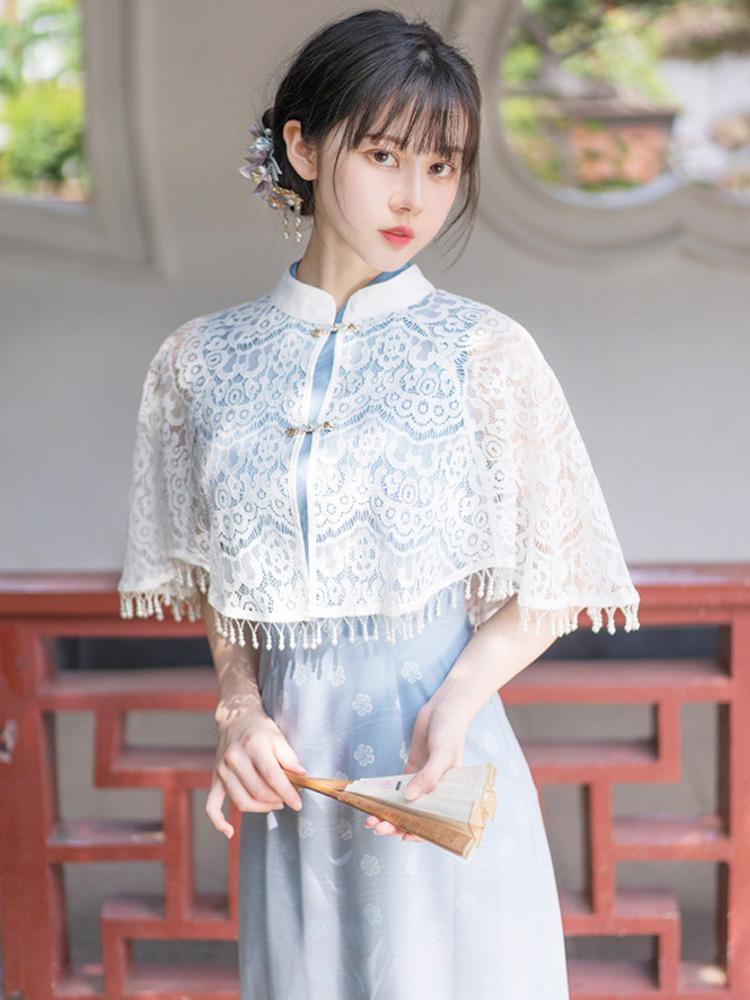 Sea Flower qipao cheongsam