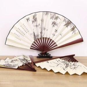 Painting Fan hanfu accessory