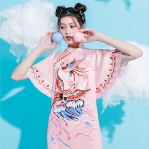 Twin Phoenix qipao dress shop